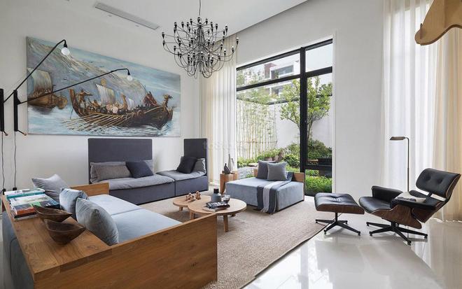 300平米别墅设计现代简约装修效果图