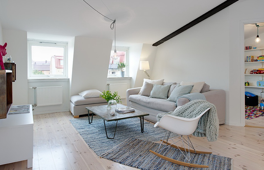 一居室地中海风格公寓