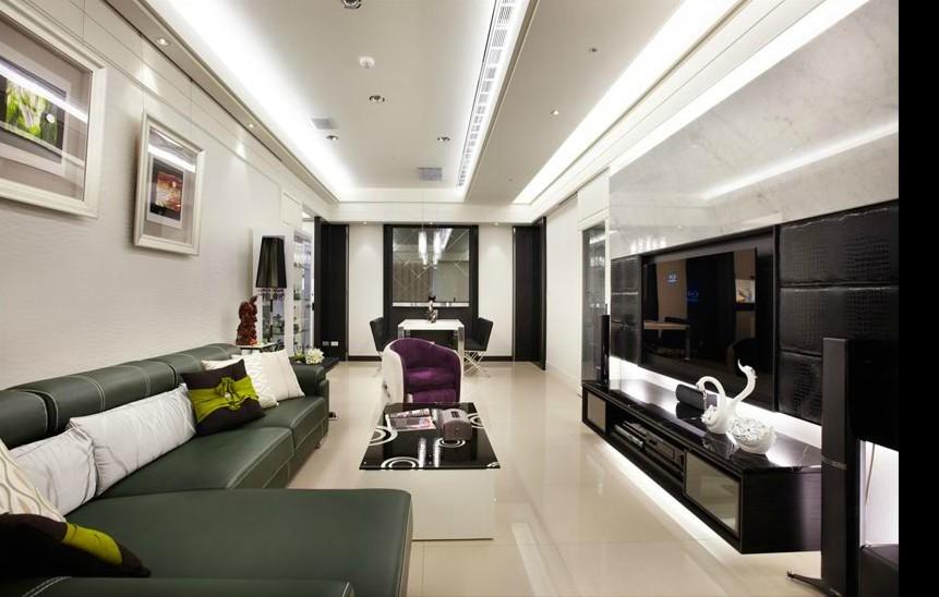 92平现代优雅三居室