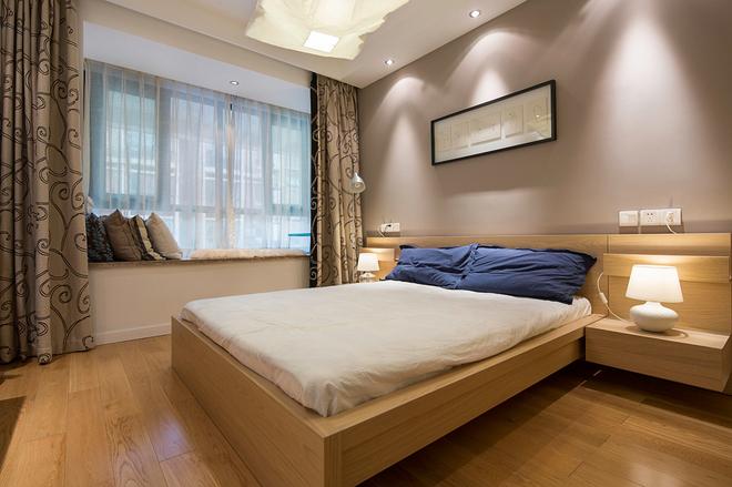 124平简约三居卧室
